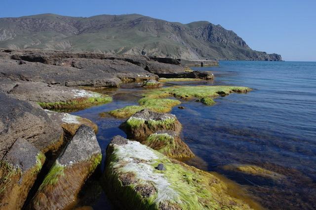 Мыс Меганом и бухта Капсель в Крыму