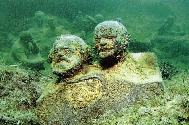 Дайвинг в Крыму - подводный музей мыса Тарханкут
