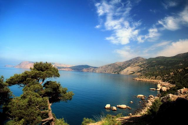 Лучшие места для дайвинга в Крыму - мыс Айя