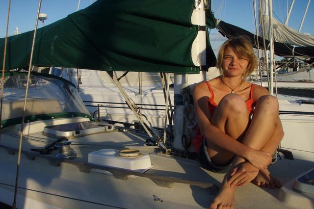 Школницы на яхте фото 782-326