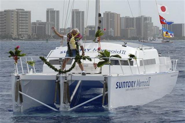 Путешествие Кеничи Хори на «Suntory Mermaid II»