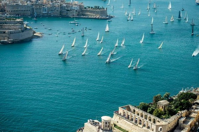 История регаты The Rolex Middle Sea Race