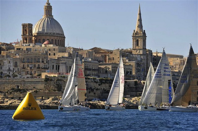 История гонки The Rolex Middle Sea Race