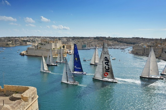 Маршрут The Rolex Middle Sea Race