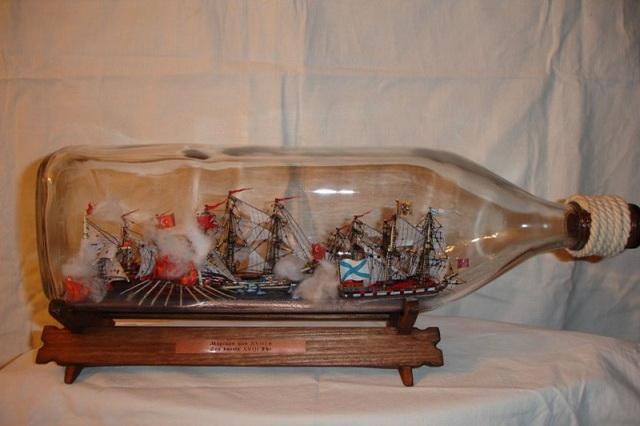 Корабль в бутылке в своими руками 187