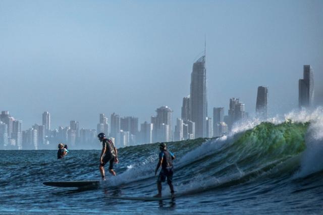 Условия для серфинга в Австралии