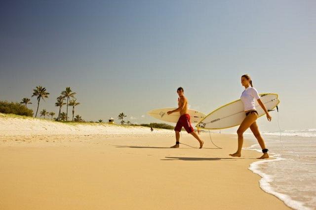 Лучшие пляжи для серфинга в Австралии