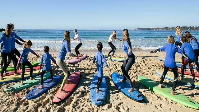Популярные серф-споты Австралии для новичков