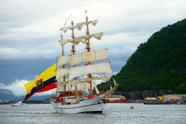 Маршрут регаты The Tall Ships Races